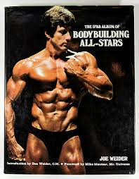 Joe Weider S Bodybuilding System Book And Charts Vintage The Original Joe Weider Bodybuilding System Course