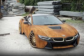 BMW Convertible bmw custom order : BMW i8 Rust Wrap Custom by MetroWrapz | HiConsumption