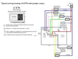 trane thermostat wiring diagram & trane xl80 furnace thermostat thermostat wiring color code honeywell heat pump at Heat Pump Thermostat Wiring Color Code
