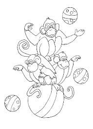 Disegni Per Bambini Da Stampare E Colorare Scimmia By Megghynet