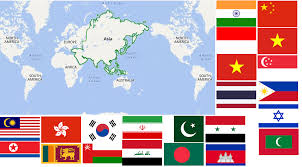 List of asian countries by area