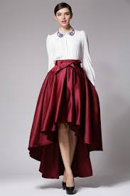 Image result for Asymmetrical fashionable skirts