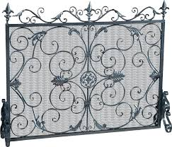 decorative fireplace screens wrought iron in decorative fireplace screens decorations decorative fireplace screens