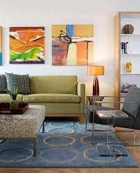 Mid Century Wall Decor Art Above Sofa Living Room Eclectic With Mid Century Modern Mid