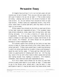 Good Persuasive Essay Topics For Middle School As Well