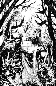 Swamp Thing Variant By Yanickpaquette On