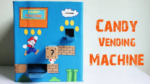 How To Make A Vending Machine Best How To Make Homemade Candy Vending Machine With Cardboards