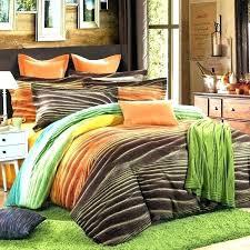 burnt orange bedding mesmerizing brown