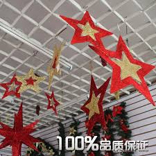 christmas decor for office. Relieving And Decorations Then Atrium Red Five Pointed Star Along Christmas Decor For Office I
