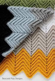Chevron Crochet Baby Blanket Pattern Free