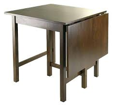 small plastic folding table table converts from a small breakfast table the drop leaf dining table