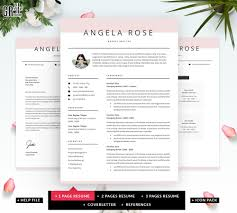 Angela Rose Resume Template