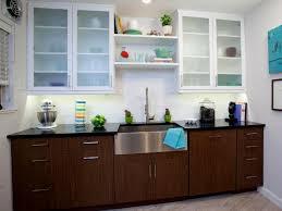 Kitchen Cabinet Magnets Cupboard Doors Dark Brown Cherry Wood Double Slab Door Kitchen