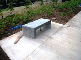 concrete garden bench. DIY Concrete Garden Bench