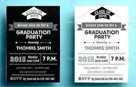 High School Graduation Party Invitations Unique Free Invitation