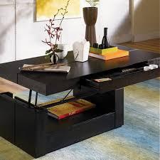 ... Black Lift Top Coffee Table ...