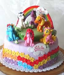 little pony birthday cake ideas top my cakes