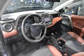 New Toyota RAV4 interior live from Los Angeles