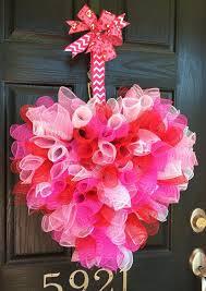 valentine wreath pk valentes day ideas diy craft with deco mesh