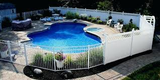 pool fence pool fence cost glass pool fence