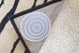non slip rug pads for rugs on carpet 4 pack designed