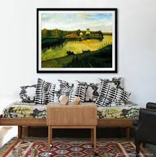 high.q handmade rural landscape oil painting on canvas wall art pictures  for living room