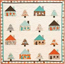 460 best House quilts images on Pinterest   Patchwork ... & Sugar Pine Cabins, 39