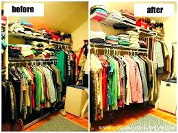 organizing clothes closet ideas how organizing shirts in small closet