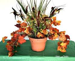 planting fake flowers outside artificial flowers for outside pots how to make a fall fl outdoor planting fake flowers outside