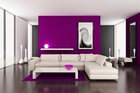Purple Walls Bedrooms And Purple Bedroom Decor Ideas With Grey