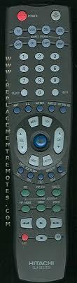 hitachi tv remote. the original hitachi clu5722tsi remote hitachi tv