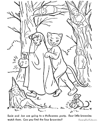 Small Picture Printable Scary Halloween Coloring Pages Coloring Home