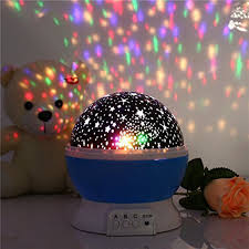 romantic spin night light projector kids sleep lighting sky star master lamp led projection bedroom