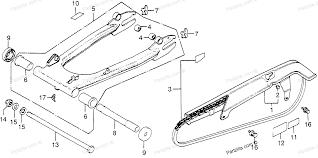 Honda motorcycle 1978 oem parts diagram for swingarm drive chain chain case partzilla