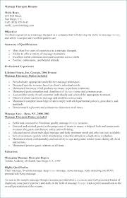 Massage Therapist Resume Example Awesome Respiratory Therapist
