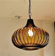 blown glass pendant light blown glass lighting pendants