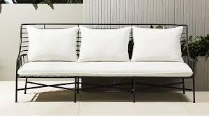 black metal outdoor furniture. BretonSofaSHS17_1x1 Black Metal Outdoor Furniture