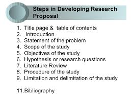 Components of research proposal The introduction generally covers the following elements  State the research problem YouTube