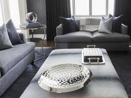gray living rooms with hermes blanket