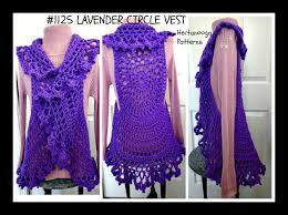 Crochet Mandala Vest Pattern Free Custom Ideas