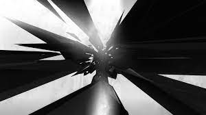 Cool Black and White Abstract ...