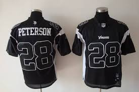 Stitched Wholesale Jersey Vikings Shadow Peterson Nfl 28 Black Cheap Adrian