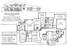 5 Bedroom 3 Bathroom House Bedroom 3 Car Garage Home Plans Free Online  Image House Plans