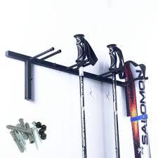 ski rack wall mounted organizer for garage storage durable sy steel new