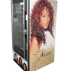 Hair Vending Machine Delectable So Now There's Vending Machine For Weaves The Frisky