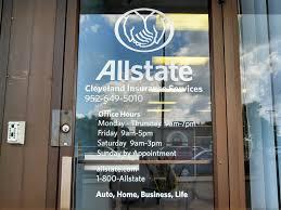 allstate door vinyl lettering