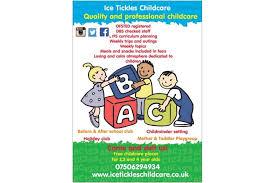 Free Childcare Advertising Ice Tickles Childcare Dartford West Kent 5 Netmums