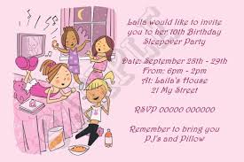divine pajama party invitation template card design enchanting slumber party wording for invitations design ideas
