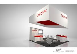 flooring can definitely set the tone for your entire exhibit take a look at outotec s booth as an example one design uses a white carpet the other shows