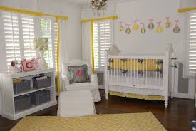 Baby Nursery Decor, Hanging Wall Letters Yellow And Grey Baby Nursery  Designed Actual Decoration Storage